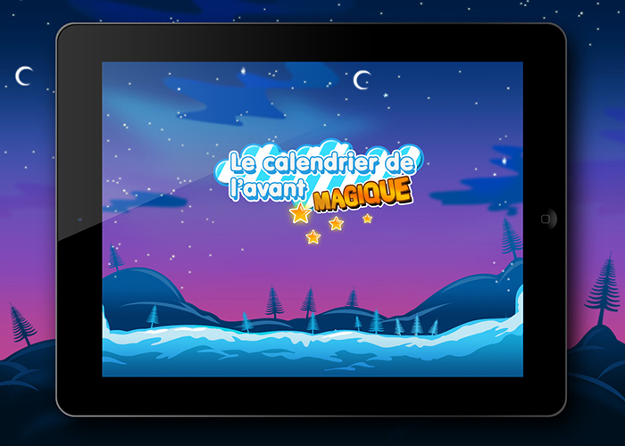 CanalSat Christmas Apps (IPad, IPhone, Android)