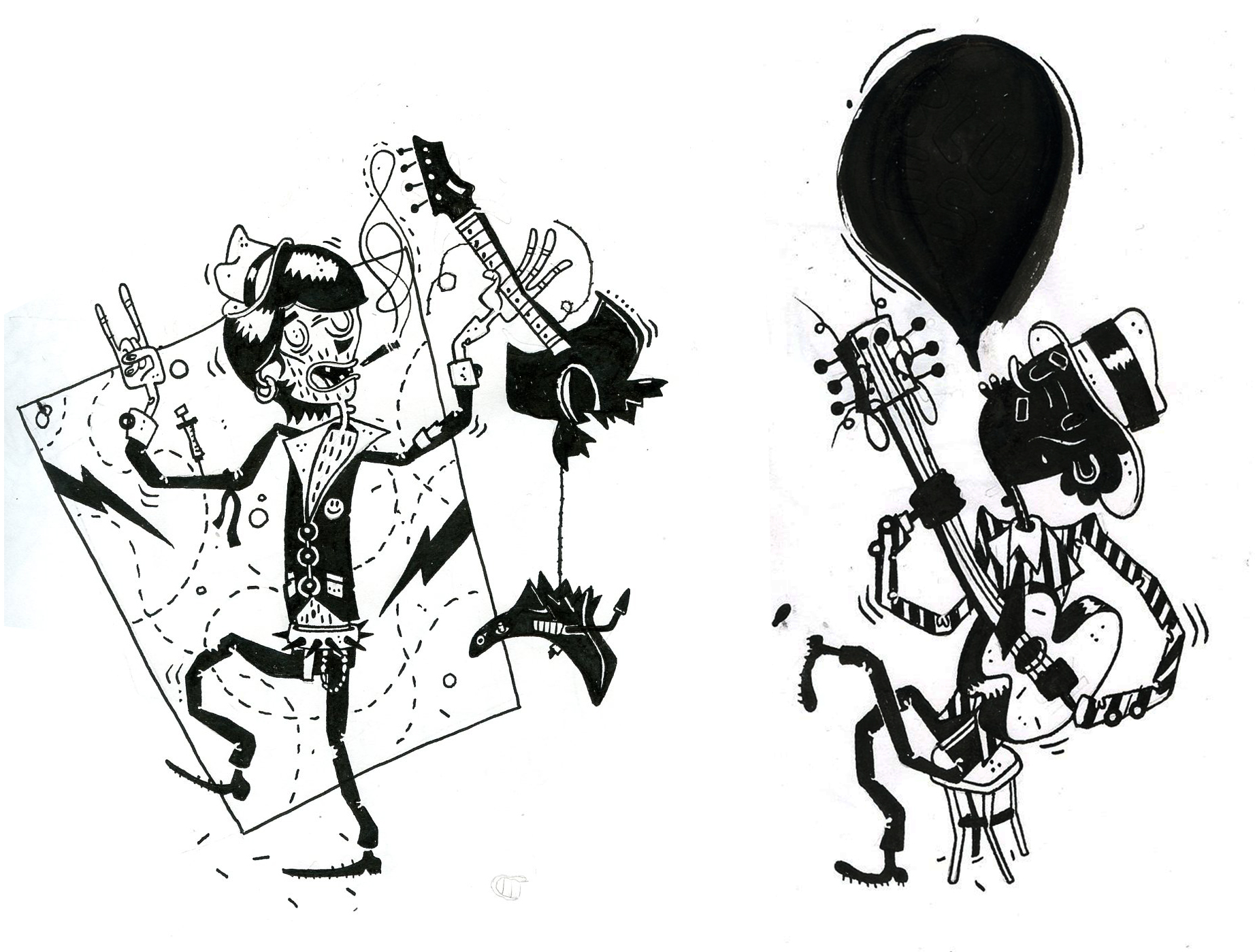 Ink & Paper illustrations