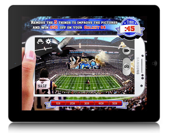 NFL – Samsung (IPad, IPhone, Android)