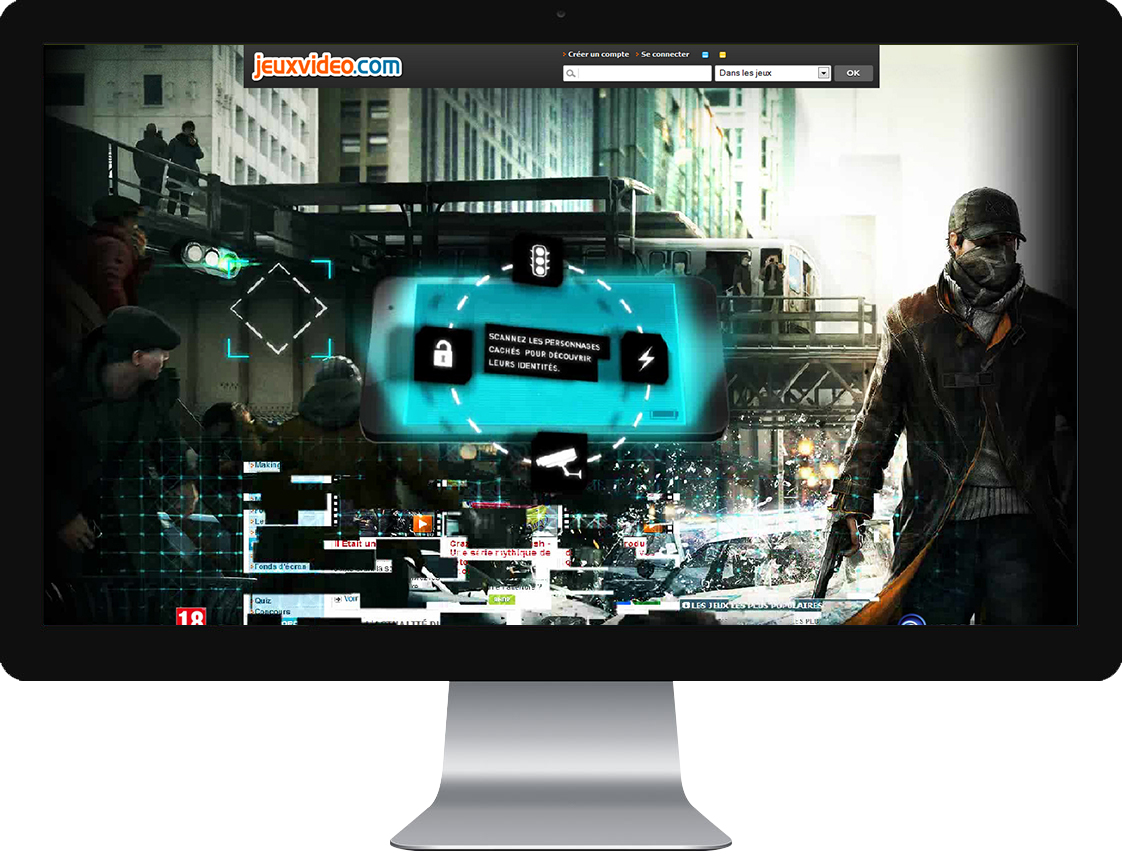 Watchdogs Digital campaign: Homepage Take Over